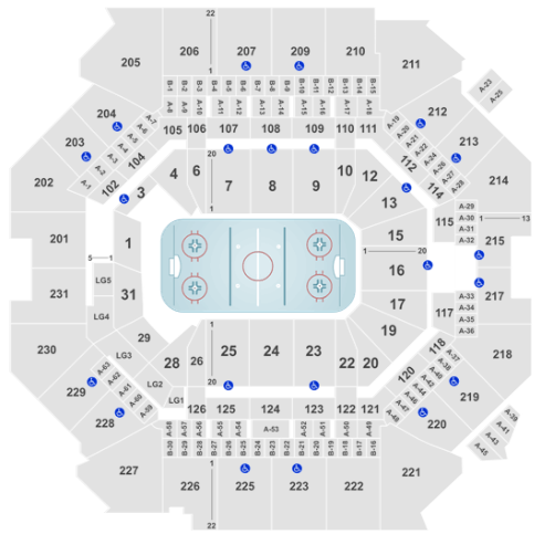 Barclays Center Seat Map NHL