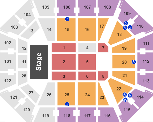 Mohegan Sun Arena Ct Tickets With No Fees At Ticket Club