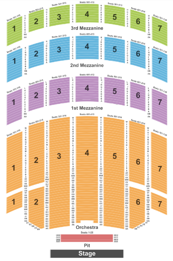 Radio City Music Hall Map Radio City Music Hall Tickets with No Fees at Ticket Club