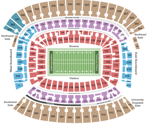 0055238d FirstEnergy Stadium - Cleveland Tickets with No Fees at Ticket Club