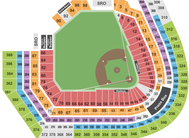 Oriole Park At Camden Yards Tickets With No Fees At Ticket Club