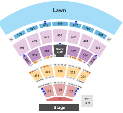 Darien Lake Performing Arts Center Tickets With No Fees At Ticket Club