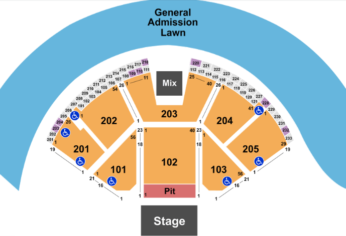 Gorge Amphitheatre Tickets With No Fees At Ticket Club