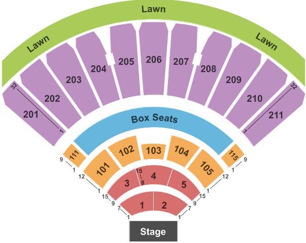White river amphitheatre tickets with no fees at ticket club