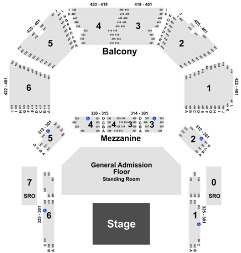 ACL Live At The Moody Theater Tickets with No Fees at ...