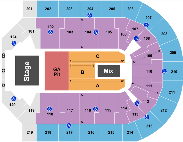 Denny Sanford Premier Center Tickets With No Fees At Ticket Club