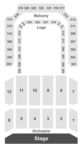 bill graham civic auditorium seating chart - 278×499