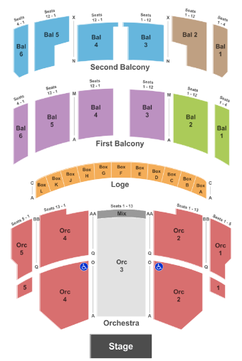 Taft Theatre Tickets With No Fees At Ticket Club