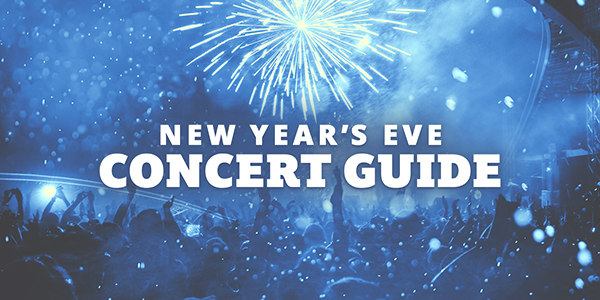New Year's Eve Concerts and Events 2019